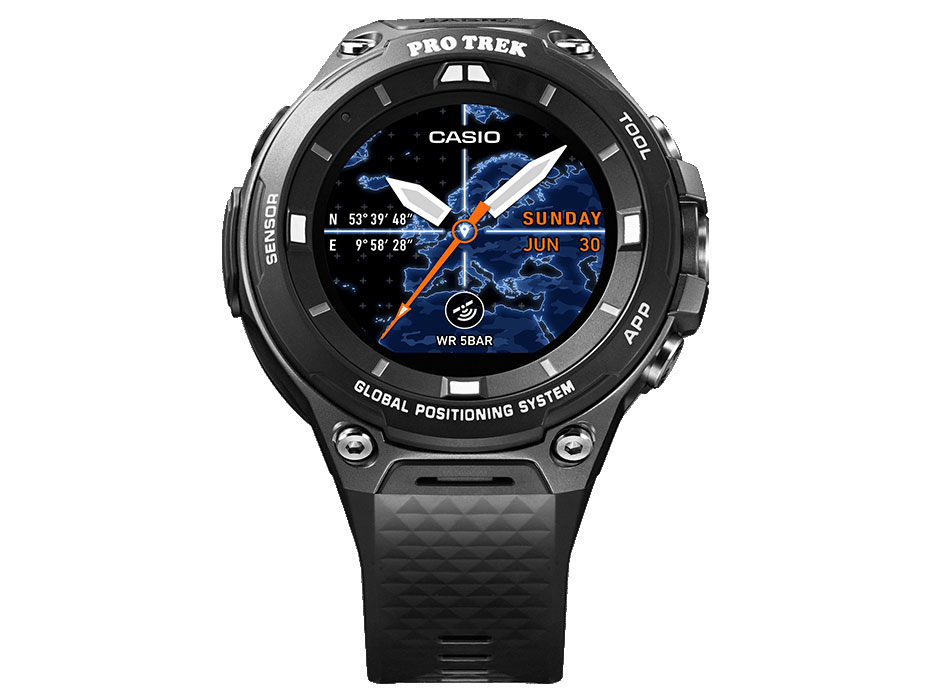 Smart Outdoor Watch PRO TREK Smart WSD-F20-BK [ブラック]