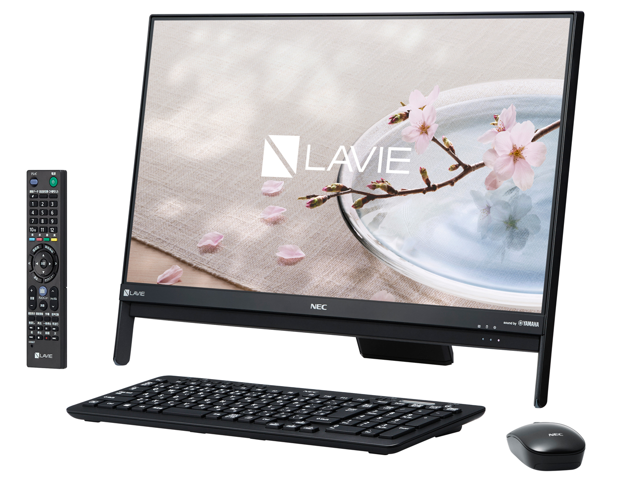 LAVIE Desk All-in-one DA370/GAB PC-DA370GAB [ファインブラック]