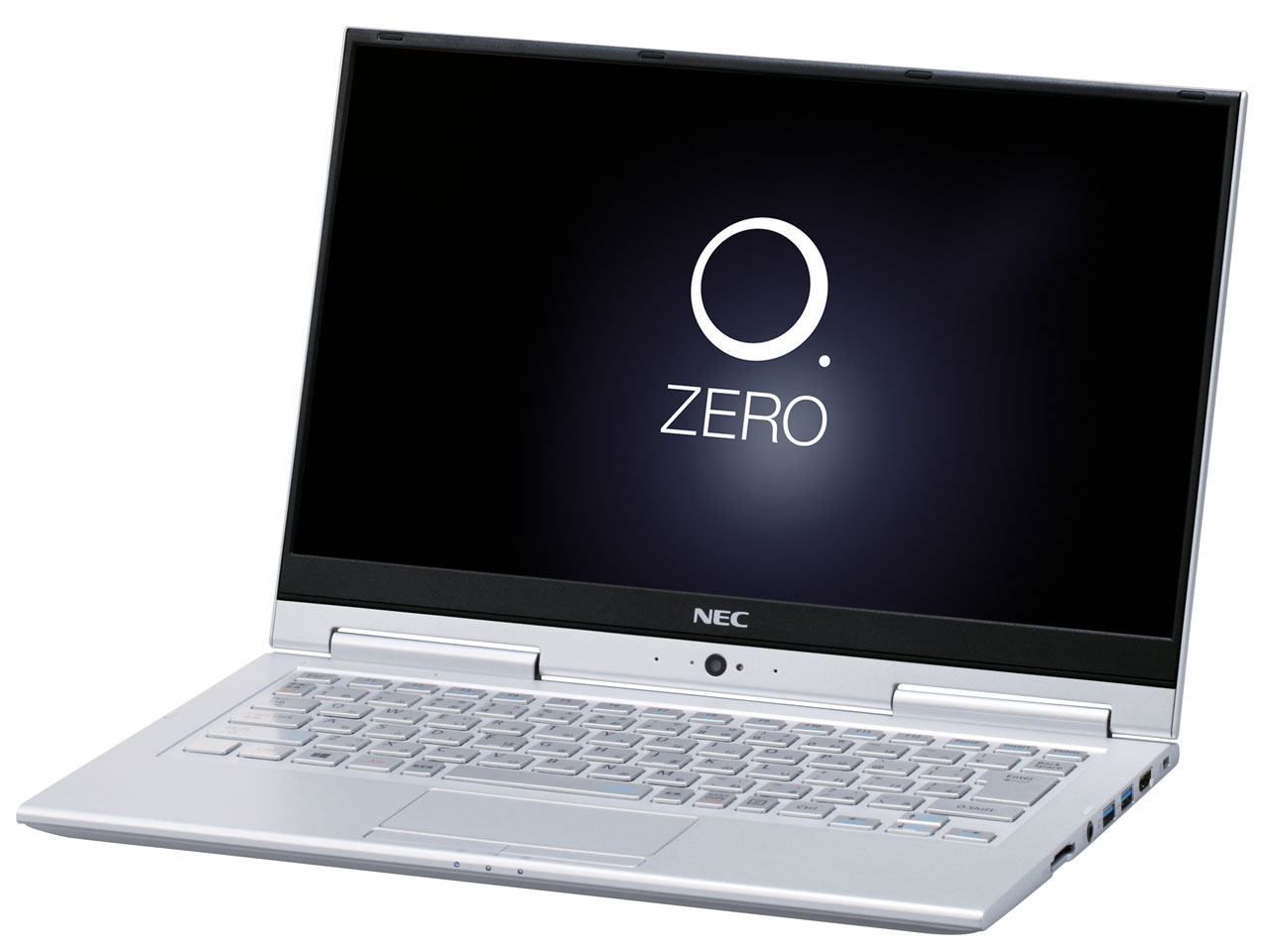 LAVIE Hybrid ZERO HZ550/GAS PC-HZ550GAS [ムーンシルバー]