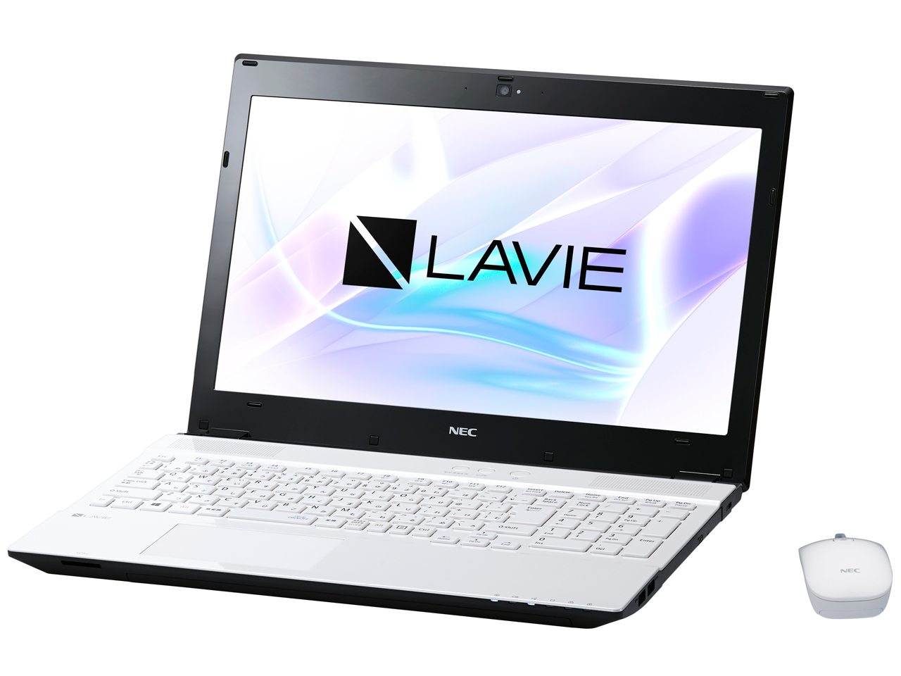 LAVIE Note Standard NS350/HAW PC-NS350HAW [クリスタルホワイト]