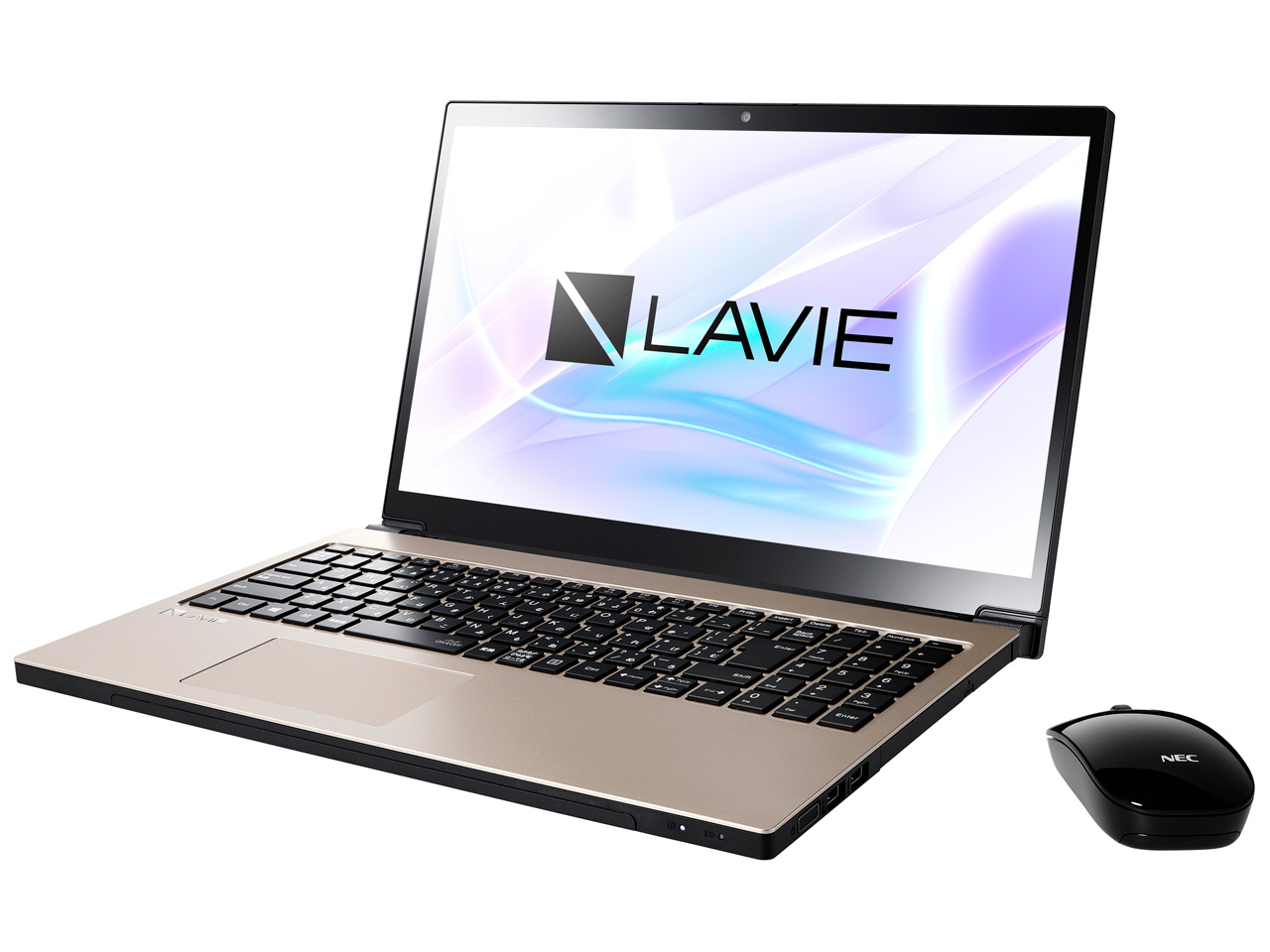 LAVIE Note NEXT NX750/LAG PC-NX750LAG [クレストゴールド]